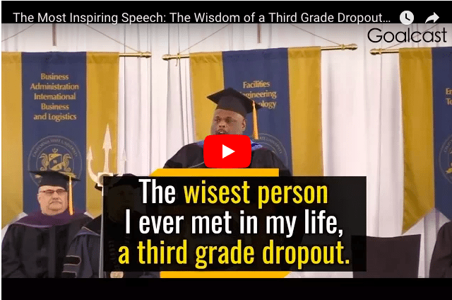 VIDEO - The Wisdom of a 9-Year-Old School Dropout Will Inspire You!