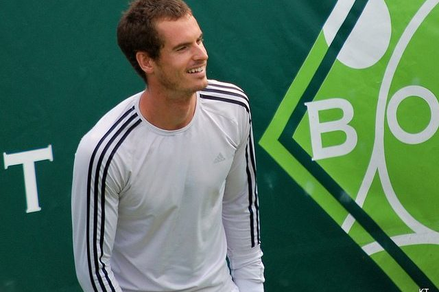 Andy Murray Mentoring The Next Generation of British Olympic Sprinters!