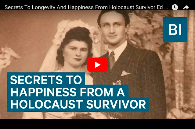 Secrets For a Happy Life From a 92-Year-Old Holocaust Survivor