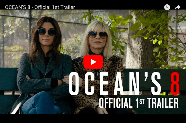 Sandra Bullock & Rihanna Feature In First Ocean's 8 Trailer...