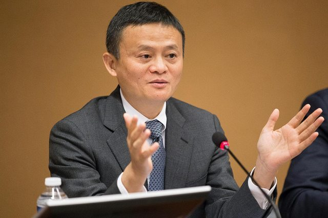Jack Ma: Davos 2018 - Can Humans Be Better Than Machines?