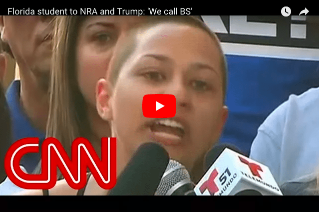 Florida Student to NRA And Donald Trump: 'We call BS!'