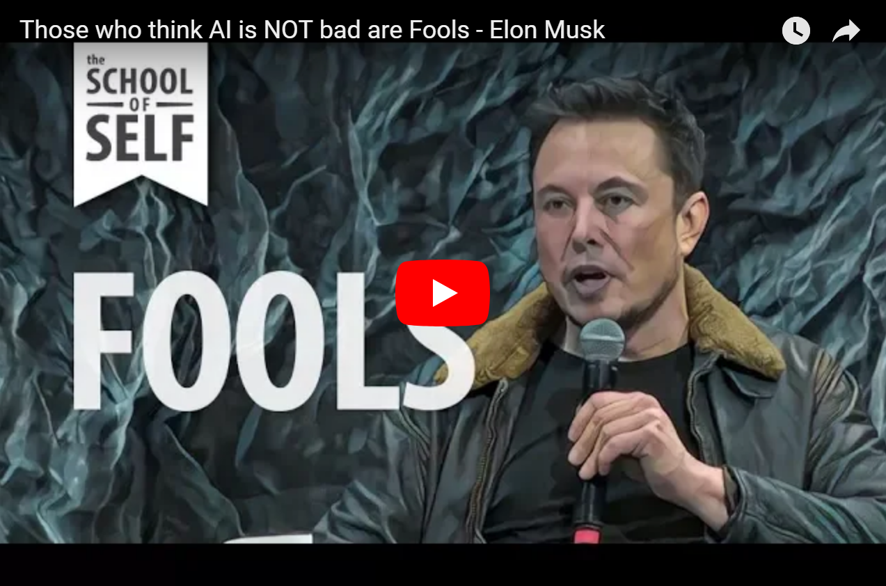 Why is Elon Musk Afraid of AI?