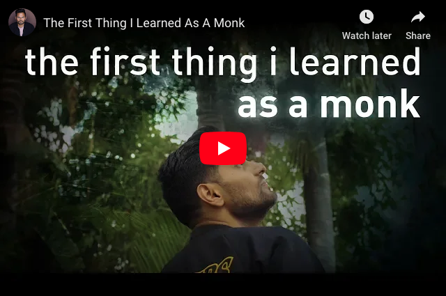 What Is The First Thing That Monks Learn At School?