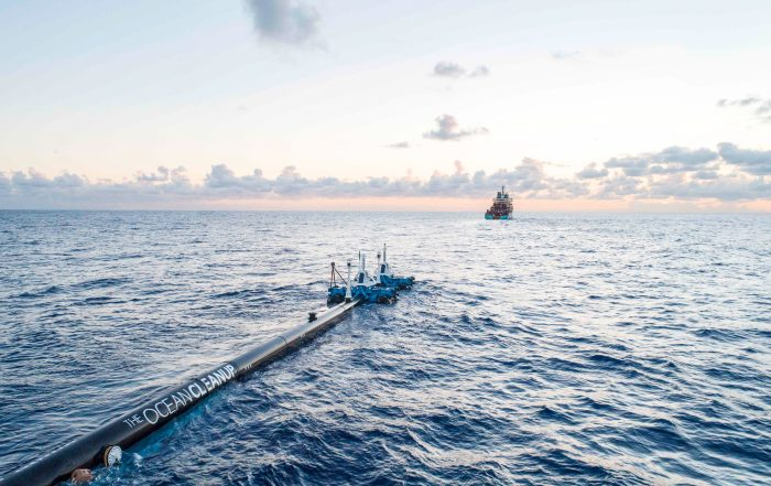 It's Here! Boyan Slat Launches First Ocean Cleanup System 2