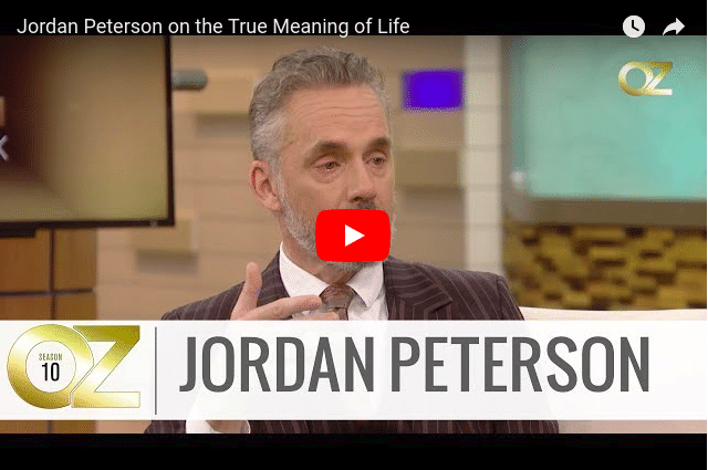 Jordan Peterson Video Screenshot
