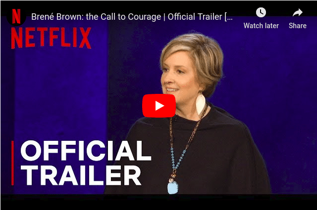 Brene Brown trailer youtube video screenshot