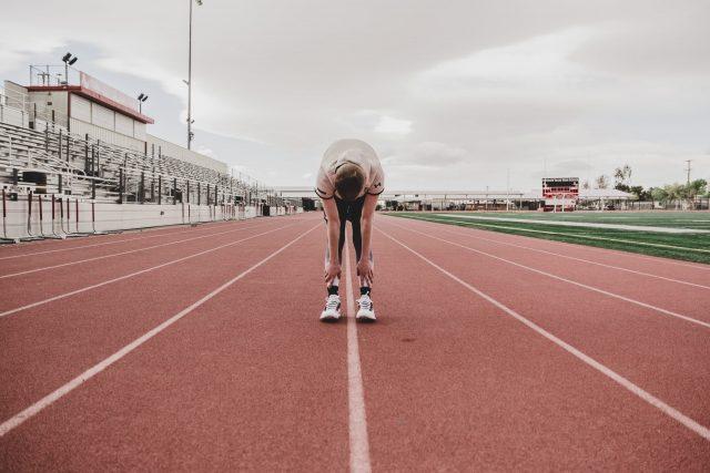 runner resting