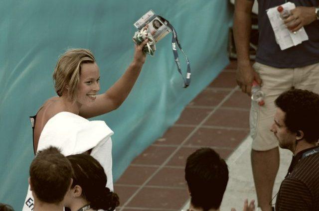 Swimmer Federica Pellegrini