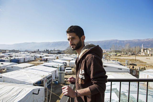 Young man lebanon